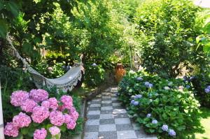 giardino privato dependance
